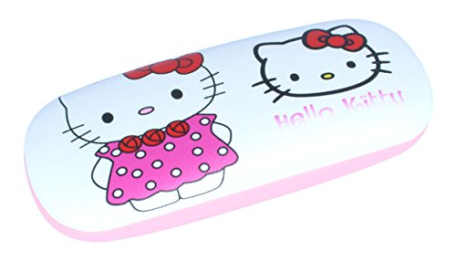 Funda para gafas de Hello Kitty con bisagra de metal