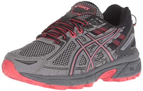 ASICS Youth Gel-Venture 6 Gs Carbon/Cayenne 4 M