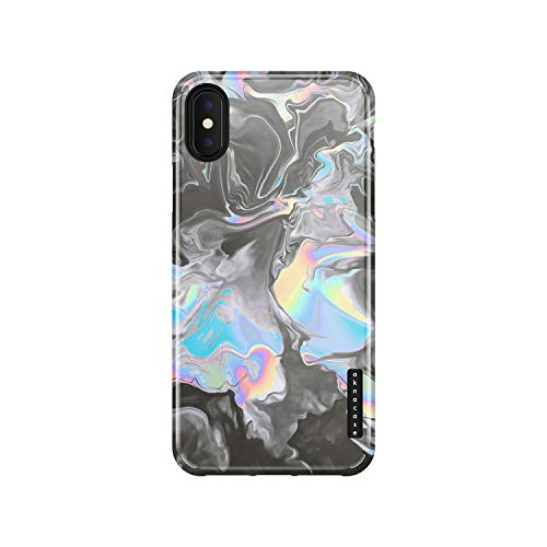 iPhone Xs Max Case Watercolor, Akna Sili-Tastic Series High Impact Silicon Cover with Full HD+ Graphics for iPhone Xs Max (Graphic 102006-U.S)