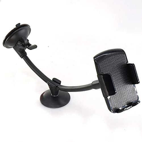 USNASLM Univerola Soporte universal para parabrisas de brazo largo para teléfono móvil de coche para Xiaomi soporte, para iPhone 7 Huawei GPS MP4