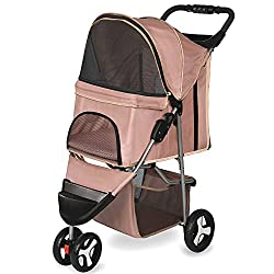 Pet strollers for dogs and cats