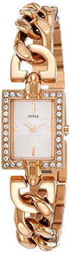 Guess Watches Orologio Analogico da Donna con Cinturino in Placcato in Acciaio Inox W0540L3_rosévergoldet-21