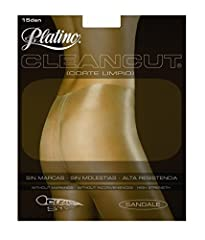 Ultra glossy material gives your legs a sexy freshly oiled look. Laser cut waistband, fully boarded, cotton gusset, and sheer toe. Flat seam construction looks good even under tight fitting clothing. Size 5 has added panel in rear Fabric Content: Pan...
