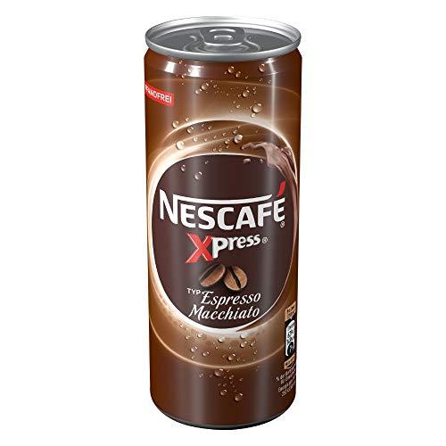 NESCAFÉ Xpress Espresso Macchiato, ready to drink Eiskaffee, 1er Pack (1 x 250ml)