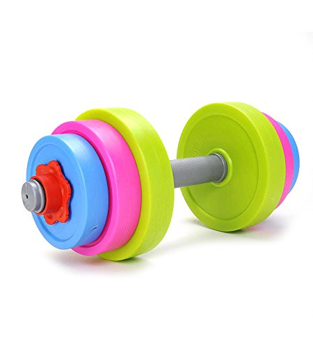 Digital Toy INC - Adjustable Dumbbell Sports Toy Set for Kids Child Boys & Girls