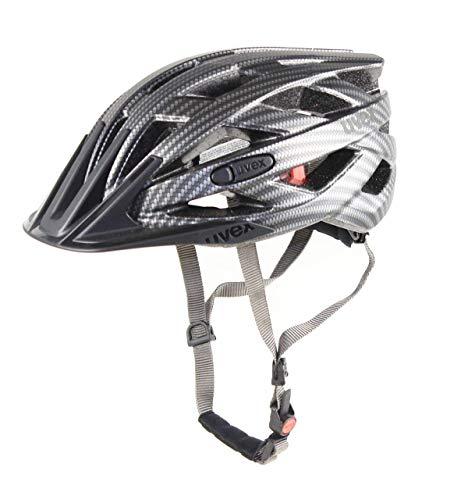 Uvex Unisex– Erwachsene i-vo cc Fahrradhelm, black carbon look mat, 56-60 cm