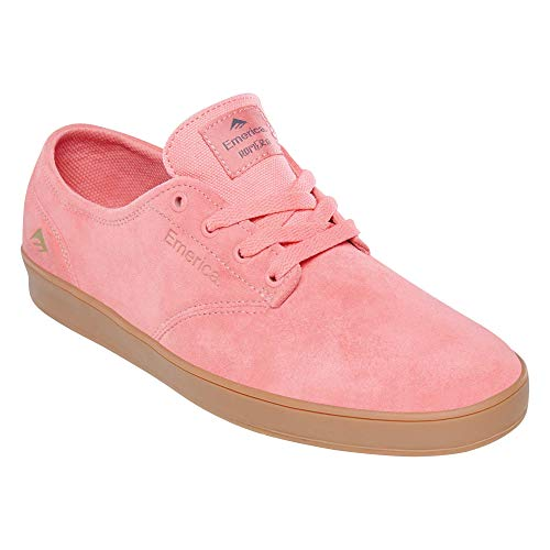 Emerica mens The Romero Laced Low Top Skate Shoe, Pink, 8 US