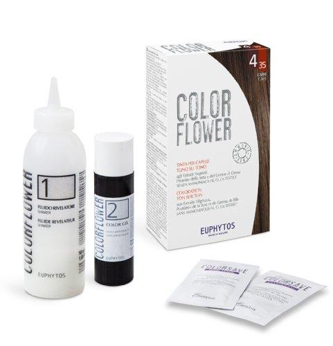EUPHYTOS ColorFlower la couleur des cheveux Cafe 4/35 (120ml)