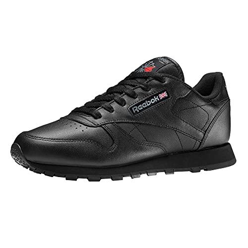 Reebok Classic Leather, Scarpe da Calcio Allenamento Unisex Bambini, Nero (Black 001Black 001), 38