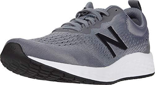 New Balance Men's Fresh Foam Arishi V3 Running Shoe, Gunmetal/Steel/Black, 10.5