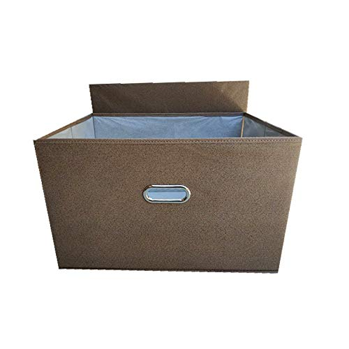 Scatola Di Immagazzinaggio In Tessuto Non Tessuto Di Cotone E Lino Da 60 Litri Per Uso Domestico