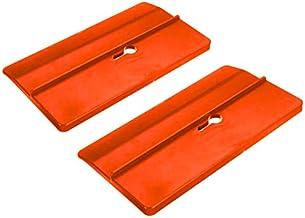 Fltaheroo 2 Stks Gipsplaten Montage Tool Gipsplaten Positionering Plaat Ondersteunt de Raad op zijn plaats tijdens het ins...