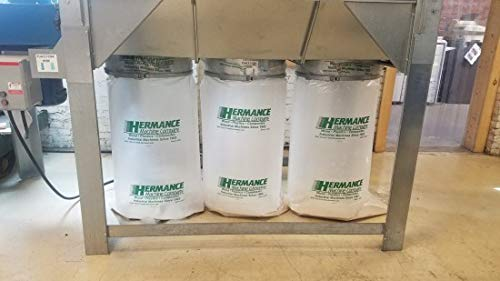 Plastic Dust Collection Bags 32' x 51' Flat (Fits 20' Dia. Outlet) 90 Bags Per Box
