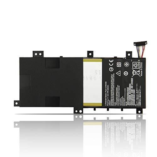 K KYUER 38Wh C21N1333 Laptop Battery for Asus Transformer Book Flip TP550L TP550LA TP550LAB TP550LD TP550LJ R554L R554LA X454 TP550LA-UH51T CJ004H CJ040H CJ090H TP550LD-CJ078H CJ060H CJ084H C21NI333