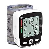 Ruie Handgelenk Blut Druck Monitor für die Familie, Digital Automatisch Messen Blut Druck mit Herz Bewertung Impuls Erkennung, Groß Hintergrundbeleuchtung LCD Anzeige 2 Benutzer Modus -