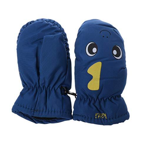 WT-DDJJK Kinderhandschuhe, 2-5 Jahre Gute Qualität Babyhandschuh Für Winter Kinder Jungen Mädchen Im Freien Warme Handschuhe Wasserdicht Winddicht