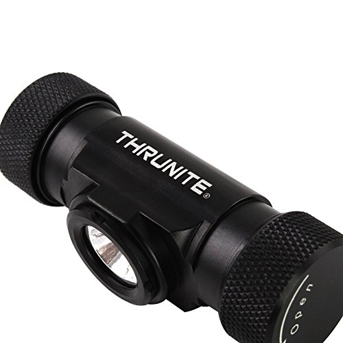 ThruNite TH20 520 Lumen CREE XP-L LED Headlamp Flashlight -Lightweight Waterproof IPX-8 EDC Headlamp for Indoor & Outdoor Hiking,Camping, Cycling - CW