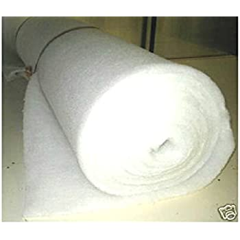 """405 GRAM UPHOLSTERY WADDING 5 METRE POLYESTER DACRON QUILTING 27/"""" WIDE 12oz"""