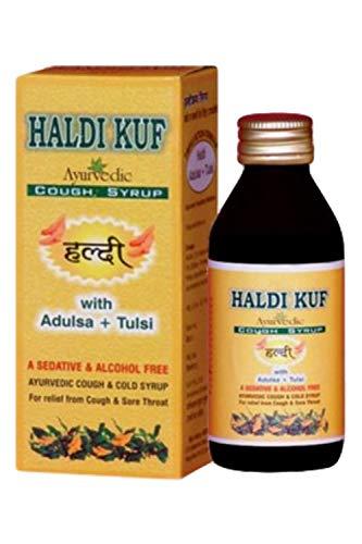 Haldikuf Ayurvedic Cough & Cold Syrup- 400 Ml