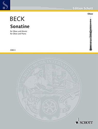Sonatine: Oboe und Klavier. (Edition Schott)