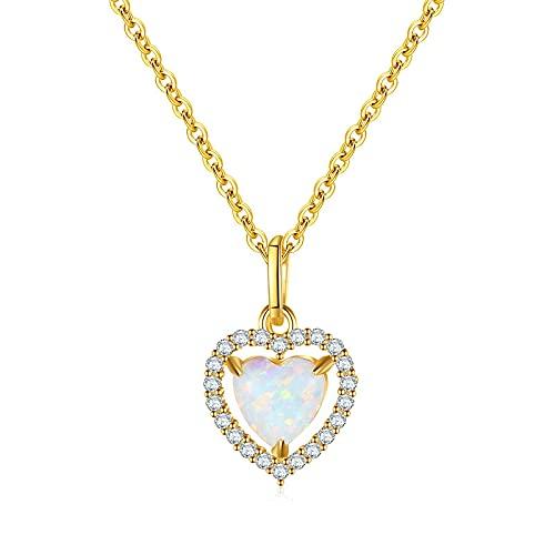 Collar con colgante de circonita de circonita de diamante de sol de corazón de plata de ley 925 para mujer, regalo de joyería de lujo de boda, 45Cm
