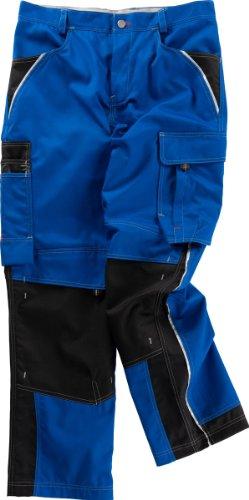 Beb Bund-Hose Arbeits-Hose INFLAME - kornblau/schwarz - Größe: 52