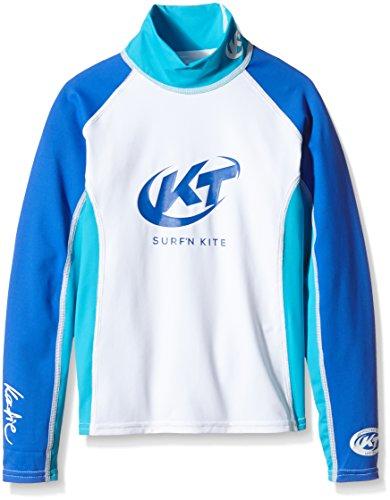 surfshop24 Katie Rashguard Spandex UV-Shirt Kinder Langarm Blau UPF 50+ Sonnenschutz (8)