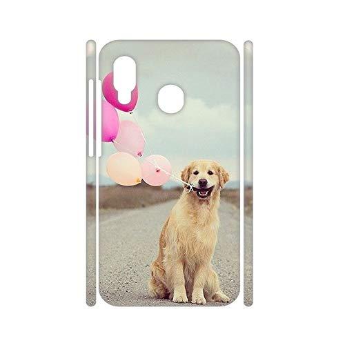Generic Carcasa para teléfono para mujer, rígida, compatible con Huawei Honor 8X, fina, fina, con Golden Retriever 6