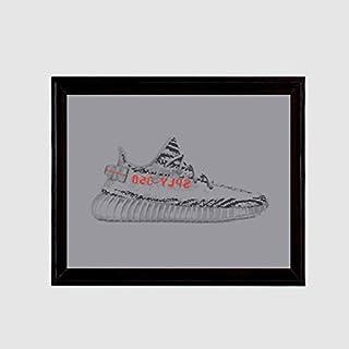 771801b9b Yeezy 350 Boost v2 Gray Beluga 2.0 Art Print