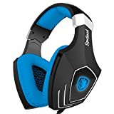 SADES A60 7.1 Surround Sound Gaming Headset Stereo Headset Headphone with Mic for PC