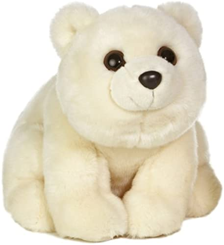 Aurora World Plush Arctic Polar Bear , 14.5