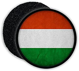 Hungary Magyarország Hungarian Budapest Republic of Hungary Flag badge Coat of arms - Patch/Patches