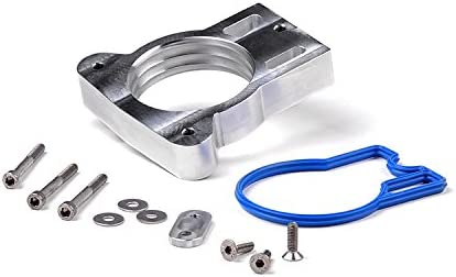 Rough Country Throttle Body Spacer Silver Chevy Max Ranking TOP12 57% OFF 1999-2006 fits