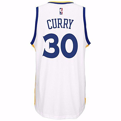 Stephen Curry Herren Trikot White Golden State Warriors Adidas Swingman (3X)