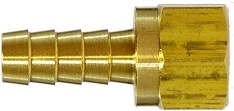 7//16-20 UNF Male x 1//4 Hose ID Kuriyama POFMSA-0404 Brass Push-On Hose Fitting Barbed SAE 45 Degree Flare