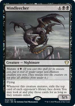 Magic the Gathering - Mindleecher - Commander 2020