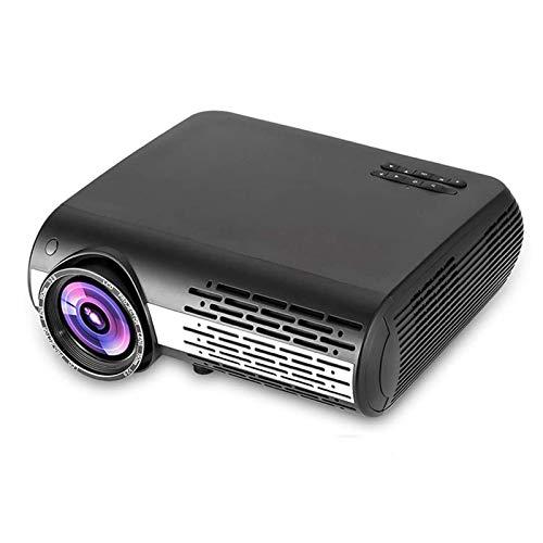 Proyector WiFi, Proyector De Cine En Casa Portátil, LCD Portátil, Proyector De Video Full HD De 1080P 6500 LUMENS, Compatible con TV Stick HDMI SD USB, para El Cine En Casa