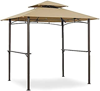 Garden Winds Grill Shelter Replacement Canopy for Model L-GZ238PST-11 (Will not fit any other gazebo model)