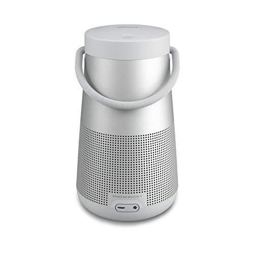 Bose SoundLink Revolve+ (Serie II) Bluetooth speaker - Tragbarer, wasserabweisender kabelloser Lautsprecher mit langer Akkulaufzeit, Silber