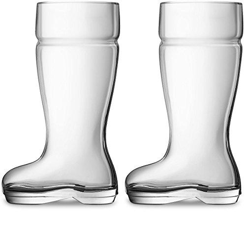 plastic boot beer glass - 6