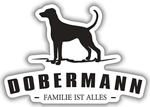 dobermann aufkleber