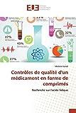 Contrôles de qualité d'un médicament en forme de comprimés: Recherche sur l'acide folique
