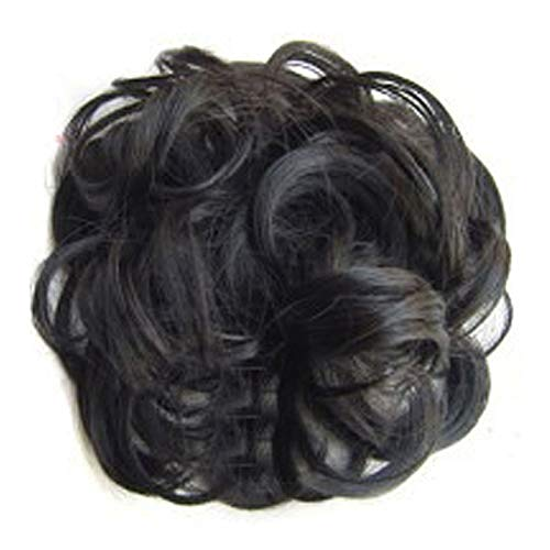 Talent Star Messy Hair Bun Extensions Curly Wavy Messy Synthetic Chignon Hairpiece Scrunchie Scrunchy Updo Hairpiece for women 2 -  L97H6M81PJY443157ON62048O4RNTF