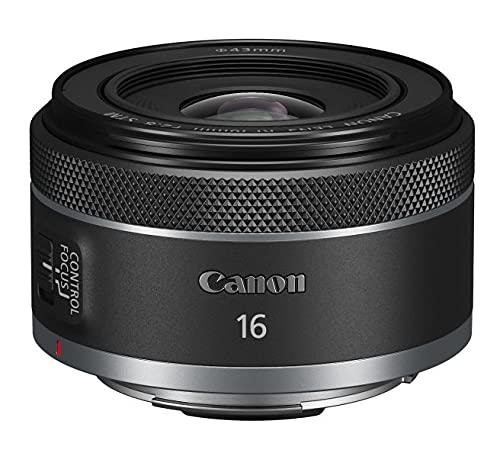 Canon Objektiv RF 16mm F2.8 STM Ultra Weitwinkel-Objektiv für EOS R Serie (Festbrennweite, Leiser STM-Autofokusmotor, hohe Lichtstärke, 165g), schwarz