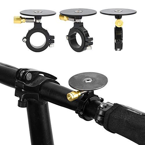 Campanello per bicicletta, suono chiaro e forte Campanello per bicicletta Campanello per bicicletta per sport all'aria aperta per ciclismo all'aperto per parti di biciclette per parti di(Nero)