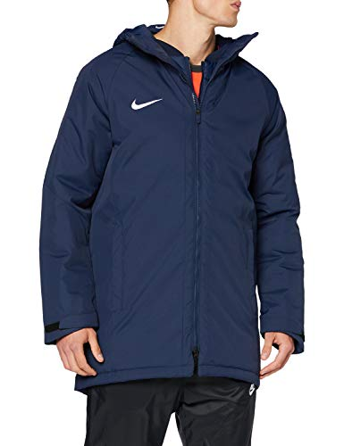 Nike Academy18 Winter Jacket Parka Homme Obsidienne/Blanc FR : S (Taille Fabricant : S)