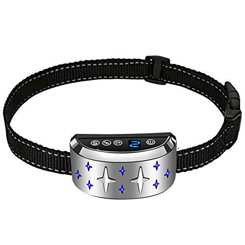DUTUI Haustier-Ferntrainer, Wasserdichtes Und Wiederaufladbares Trainingshalsband, Automatisches Training, Tierbedarf, Einstellbare Vibration