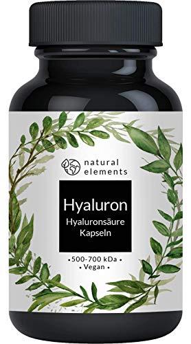 bester Test von ch alpha plus Hyaluronsäure-Kapseln – 500 mg hohe Dosis – 2018/2019 Multiwinner * – 500-700 kDa – 90…