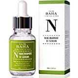 Niacinamide 10% + Zinc 1% Serum for Face - Pore Reducer + Uneven Skin Tone Treatment + Diminishes Acne Prone, Korean Skin Care, 1oz (30ml)