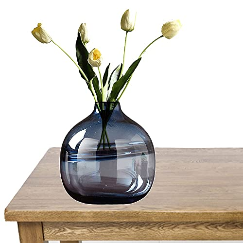 jarrón, jarrones Decorativos Modernos Altos jarrón Cristal Grande para Colocar Diferentes Tipos de Ramos de Flores en...